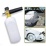 FidgetGear Pressure Washer Snow Foam Lance Cannon Gun Soap Bottle Car Foamer Wash Jet Clean