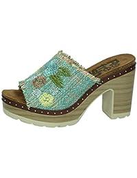 238ac995923 Amazon.es  Zuecos De Madera - 8 - 11 cm   Zapatos para mujer ...
