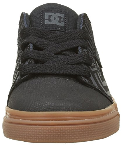 DC Shoes  Tonik, Sneakers Basses Garçon Noir (Bgm)