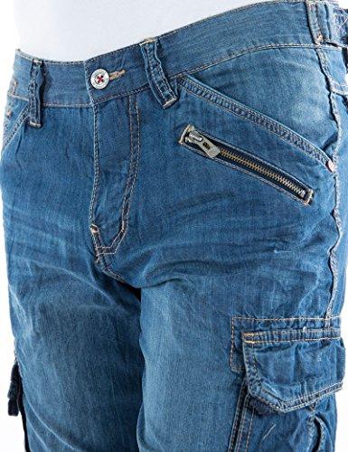 Timezone Herren Shorts Blau (Dark 3007)
