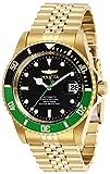 Invicta 29184 Pro Diver Reloj para Hombre acero inoxidable Automático Esfera negro