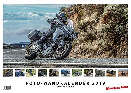 Foto-Wandkalender Motorräder 2019 - DIN A3 quer mit Feiertagen für Deutschland, Östereich und die Schweiz - Mit Platz für Notizen: Motorrad-Kalender 2019