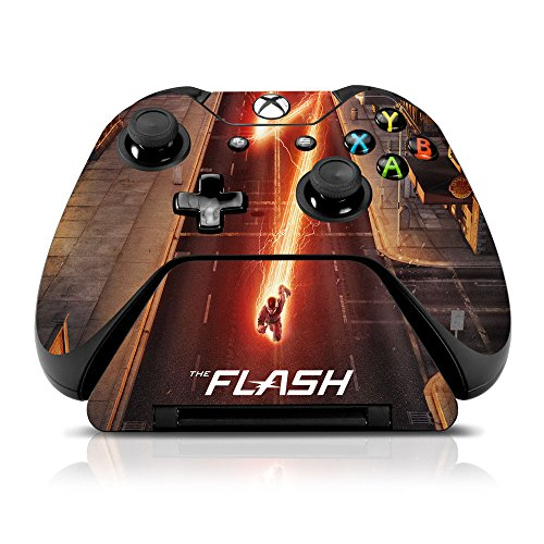 Controller-Gear-The-Flash-City-Streets-Xbox-One-Controller-Controller-Stand-Skin-Set