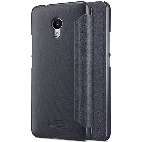 Kepuch Sparkle Meizu M5S Custodia - Alta Qualità PU Pelle Custodia Shield Custodia Case Smart Cover Per Meizu M5S - Nero