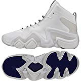 adidas Crazy 8 ADV (ASW), Chaussures de Fitness Homme, Multicolore-Blanc/Violet...