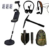 Visua Professional Discriminating Metal Detector (Detector Kit: H/Phones Batts & Pick) - Best Reviews Guide