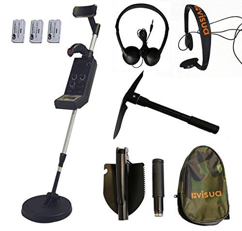 Visua Professional Discriminating Metal Detector (Detector Kit: H/Phones Batts & Pick) Test