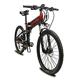 Extrbici VTT Mountain Bike XF770 17 * 26' vélo électrique Pliant Montagne...
