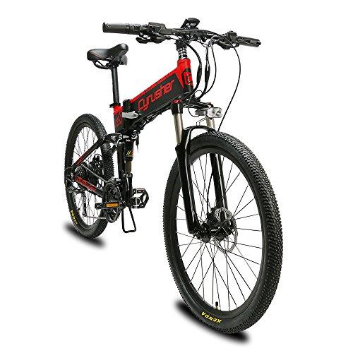 Extrbici VTT Mountain Bike XF770 17 * 26' vélo électrique Pliant Montagne 500 Watts 48V Shimano 27...