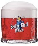 4er Set Original Berliner Kindl Weisse Klauenglas 0