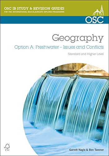 IB Geography Option A Freshwater Issues and Conflicts