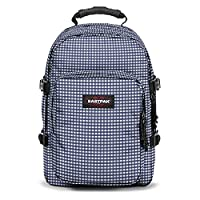 Eastpak Provider Backpack - 33 L, Gingham Blue (Multicolour)