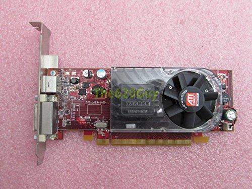 Dell X398D ATI Radeon HD 3450256MB 64-bit DMS-59/TV Out PCIe x16Grafikkarte - Ati Radeon Hd 3450