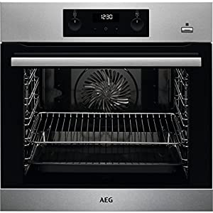 AEG BEB355020M Einbau-Backofen / SteamBake - mit Feuchtigkeitszugabe /...