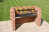 Bkb 802a Black Knight Brick barbecue kit con brace Guard.