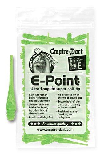 *E-Point® Spitzen 2BA Neongrün (100 Stück)*