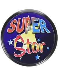 Beistle BL039 Super Star Blinking Button, 2-Inch
