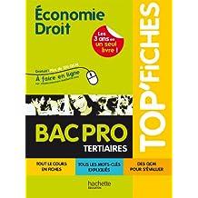 Top Fiches Economie Droit Bac Pro Tertiaires + QCM