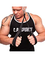 C.P. Sports Palm Grip Loops Tricep Rope CP Sports G11_ NFA by C.P. Sports
