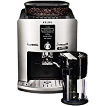 Krups EA82FE Kaffeevollautomat Latt'Espress Quattro Force, One-Touch Funktion, Milchbehälter, 1,7 L, 15 bar, silber