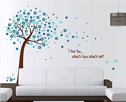 ufengke-romantique-fleur-bleue-arbres-stickers-muraux-salle-de-sjour-chambre-coucher-autocollants-am