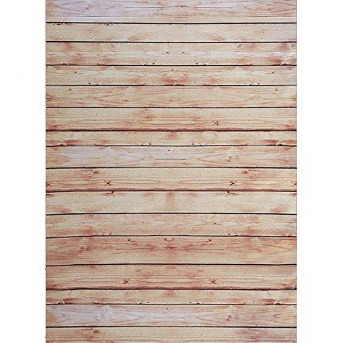 SAILUN® 1,5 x 2,1 m Braun Holzboden Hintergründe für Fotostudio Hintergrundsystem Holzfussboden Hintergrundstoff (Baumwolle Nicht-eisen-anzug)