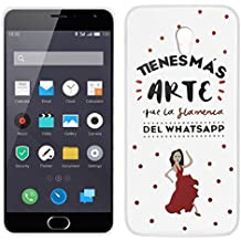 Funda Carcasa para Meizu M2 / M2 Mini Emoticonos Flamenca