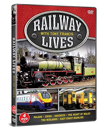 Railway Lives With Tony Francis (4 Dvd) [Edizione: Regno Unito]