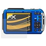 atFoliX Schutzfolie für Panasonic Lumix DMC-TS6 Displayschutzfolie - 3 x FX-Antireflex blendfreie Folie