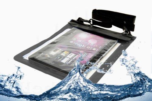 Navitech schwarzes Wasserfestes Case, Wasserfestes Cover für 10 Zoll Tablets Inklusive das Motorola Xoom Xyboard/ Xoom Xyboard 2 10.1