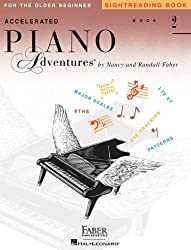 Accelerated Piano Adventures Sightreading Book 2 by Nancy Faber (2014-02-01)