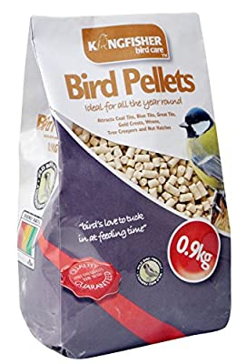 King Fisher Suet Pellets Feed Bag, 0.9 kg by King Fisher
