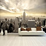 Fotomurale New York carta da parati fotographica Shining Manhattan 366 x 254 cm Deco.deals