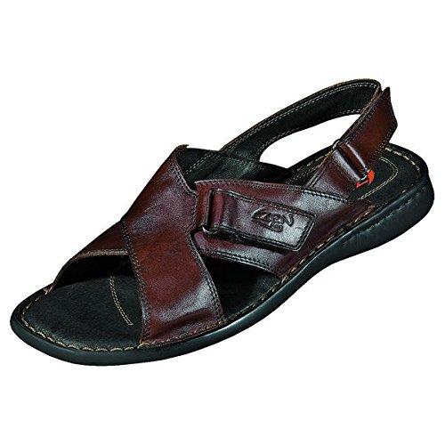 Zen 660163 sandales homme Marron - Kastanie