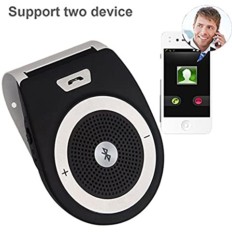 Bluetooth 4.1 Car Sun Visor,Upintek Wireless In Car Bluetooth Handsfree