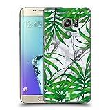 Head Case Designs Palmen Blaetter Tropische Marmor Drucke Ruckseite Hülle für Samsung Galaxy S6 Edge+ / Plus
