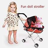 Passeggino Giocattolo Per Bambole Con Cappottina - Fingono Il Giocattolo Mobili Carrozzina Del Bambino Passeggino