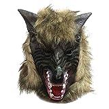 Masque de Loup Latex Costume Cosplay Adulte Enfant