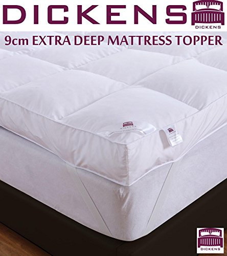 9cm-goose-feather-down-mattress-topper-elasticated-strap-all-sizes-the-london-bedding-company-double