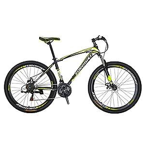 51ddYP6PBtL. SS300  - Eurobike X1 Mountain Bike 21 Speed Dual Disc Brake 27.5 Wheels Suspension Fork Mountain Bicycle