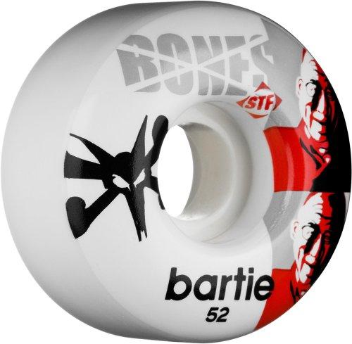 Bones STF Stree Tech Formel Skateboard Rollen (Tschad Skates Dalai Lama, 52mm, Set von 4)