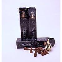 Razzmatazz di una marca di–Perfect Cuscino Ltd–90Coni Plus 3fuochi, 3x 30Vaniglia britannico incenso coni di incenso bruciatore in ottone + Free, in confezione regalo qualità, prodotta in Inghilterra - Ottone Cono