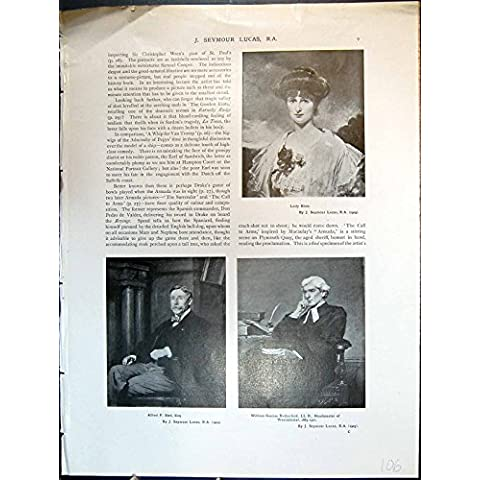 Imprima el Rutherford 106J619 de Señora Blois Alfred F Bird Guillermo G de J Seymour Lucas