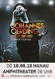 Johannes Oerding - Alles Brennt 2016 - Konzertplakat, Konzertposter