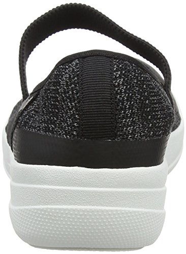 Grey Mary Uberknit Multicolour FitFlop Black Janes Halbschuhe Damen Soft 8E5qFqwRW