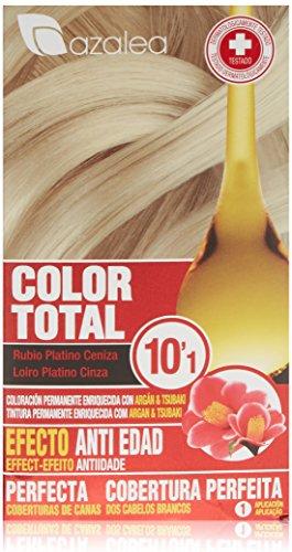 Azalea Color Total Tinte Tono 10.1 Rubio Platino Ceniza
