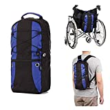 Oxygen Backpack Holder Portable Oxygen Tank Carrier Bag M6/M9 Cylinders Bottle Pouch with Adjustable Straps Fit Wheelchair, Knee Walker - Medical, Home, Travel (Black)