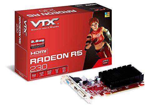 Vtx3d Radeon R5 230 2gb Ddr3 Uefi Graphic Card