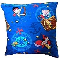 Jake and the Never land Pirates Pillow Disney Jake Pillow HANDMADE In USA Pillow