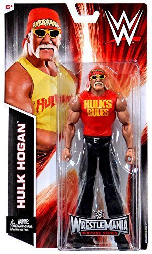 Wwe Wrestlemania Heritage Series Hulk Hogan Figure By Mattel Picture